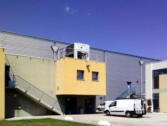 Pompe à chaleur air/air pour installation industrielle