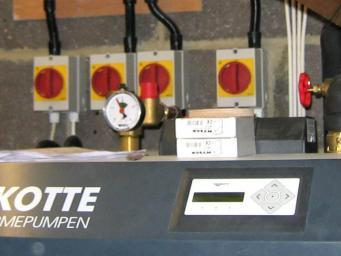 Pompe à chaleur Waterkotte