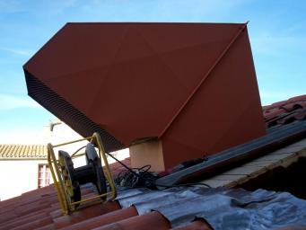 Ventilation en toiture